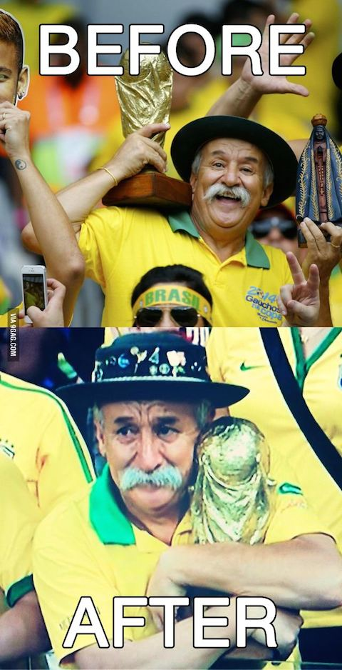 Los 17 récords y datos más curiosos del Brasil 1 – Alemania 7