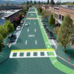 Paneles solares en carreteras
