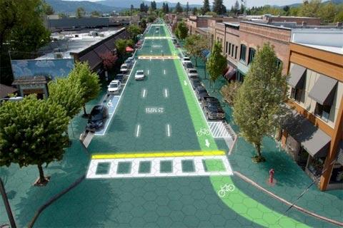 Así son las carreteras inteligentes que generan electricidad