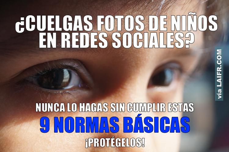 9 RECOMENDACIONES FOTOS NIÑOS REDES SOCIALES