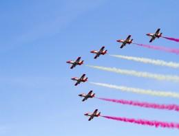 La Patrulla Águila en AIR14