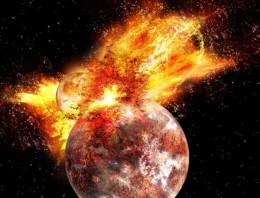 Así de violentos fueron los comienzos de nuestro planeta