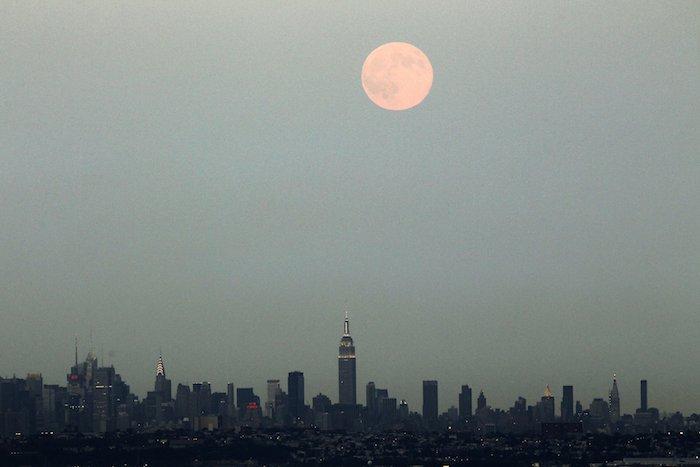 superluna 3 Nueva York NY