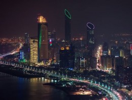 Impresionante timelapse de Abu Dhabi