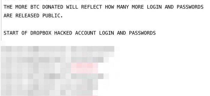 Casi 7 millones de cuentas de Dropbox podrían haber sido robadas