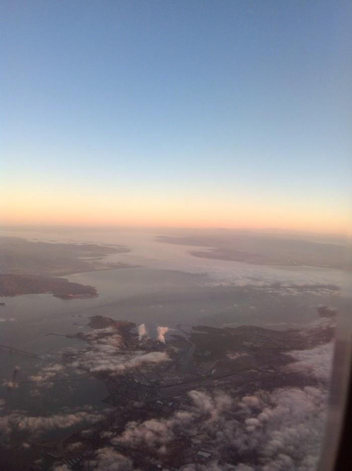 Desde la ventana de un Avión