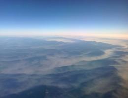 El asiento de la ventana en los Aviones