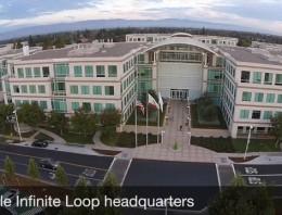 Así son las oficinas del cuartel general de Apple a vista de dron