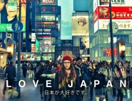 Love Japan, un resumen de lo divertido que es visitar Japón como turista
