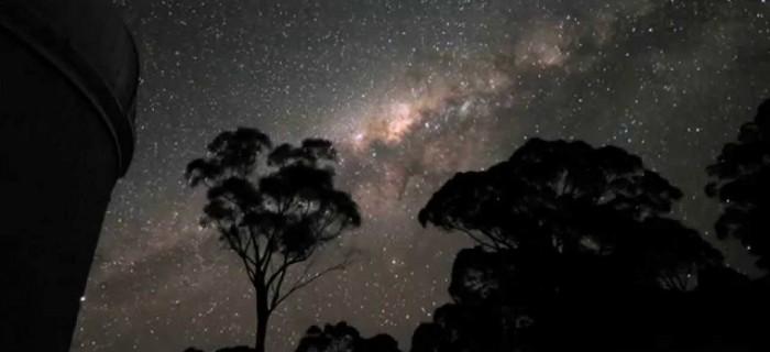 Timelapse astronómico desde el observatorio de Siding Spring, Australia