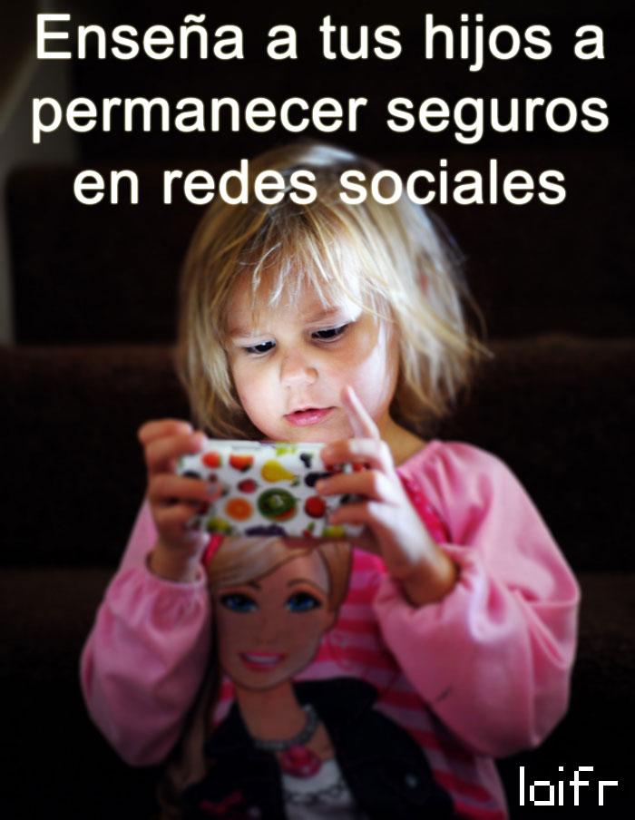 Enseña a tus hijos a permanecer seguros en redes sociales