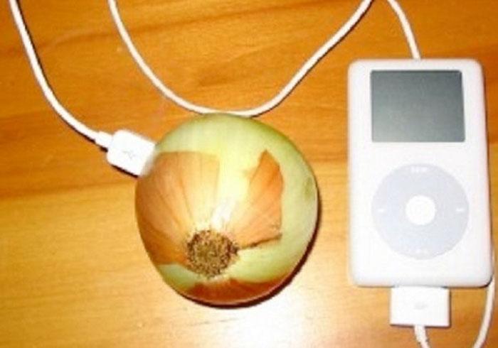 Cargar iPod con una Cebolla
