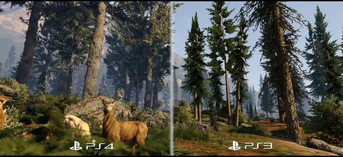Diferencias entre las versiones PS3 y PS4 de Grand Theft Auto V