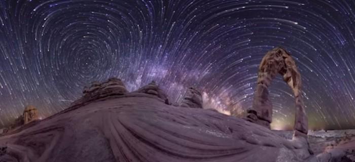 La Tierra como nunca la has visto en este Timelapse de 360 grados