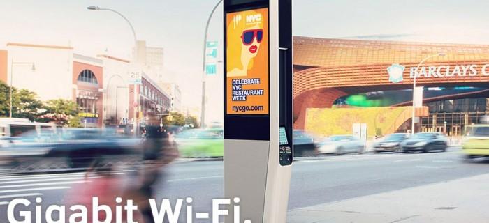 Así es LinkNYC, una red Wi-Fi gratuita con conexión a Internet de 1 Gigabit en Nueva York