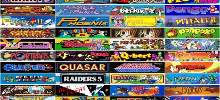Nostalgia total: 900 videojuegos de arcade jugables en una sola web