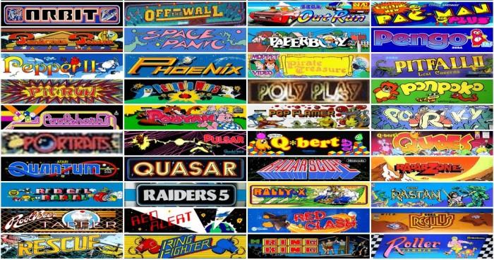 Juegos de arcade en una web