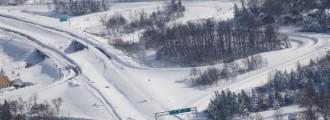9 fotos impactantes de la histórica nevada en Buffalo