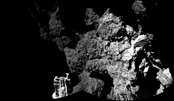 Primera foto de Philae