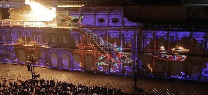 Vídeo completo del espectacular Mapping de Sevilla 2014-2015