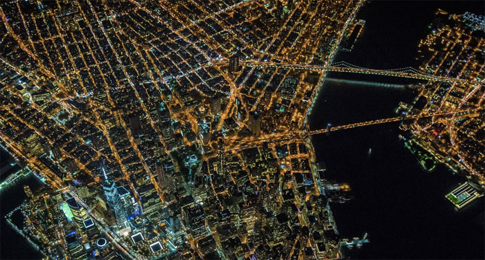 Nueva York desde 2200 m, de Vincent Laforet