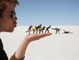 13 fotos en perspectivas imposibles que te sorprenderán