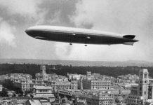 El Graf Zeppelin LZ 127 en Madrid