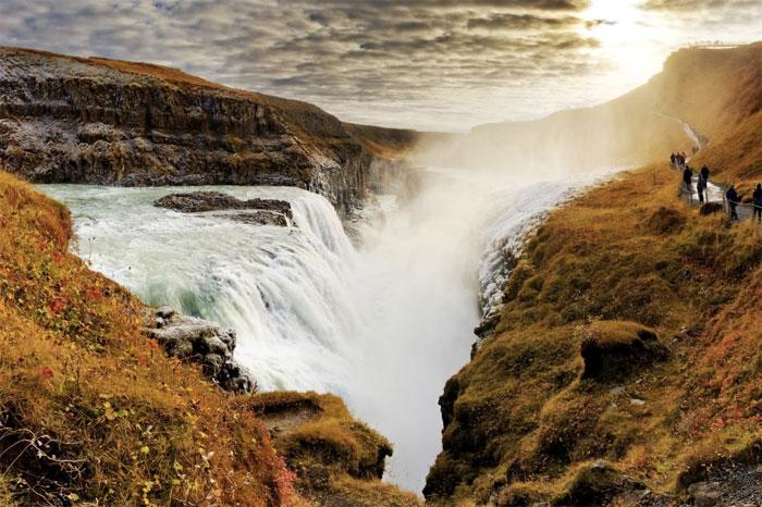 cascadas de Gullfoss