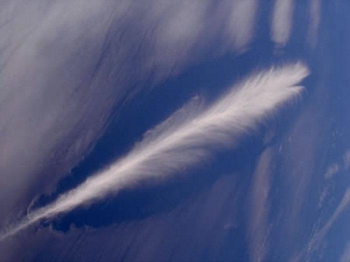 Nubes con formas que recuerdan otras cosas