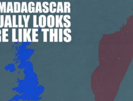 Así distorsionan los mapas el verdadero tamaño de los países