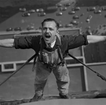 Estas impresionantes fotos de obreros del Empire State Building te pondrán los pelos de punta
