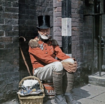 Fotos de la Inglaterra de 1928 en color