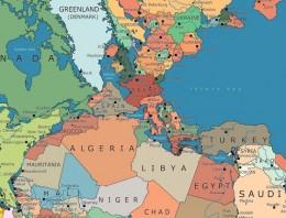 Descubre dónde quedaría tu país si la Tierra todavía tuviera un sólo continente (Pangea)