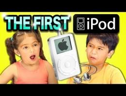 Niños reaccionan con el primer iPod, y alucinan de lo viejo que es