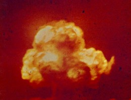 Así fue la primera explosión nuclear de la historia: Trinity
