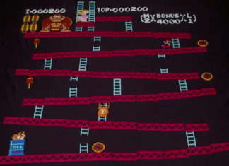 Stop Motion de Donkey Kong