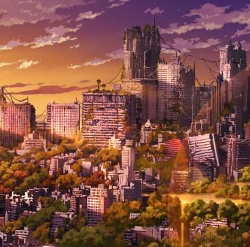Tokyo Genso, ilustraciones de la capital nipona destruída o abandonada
