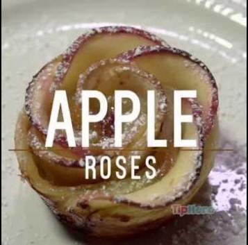 Así se cocina un delicioso postre de manzana en sólo un minuto