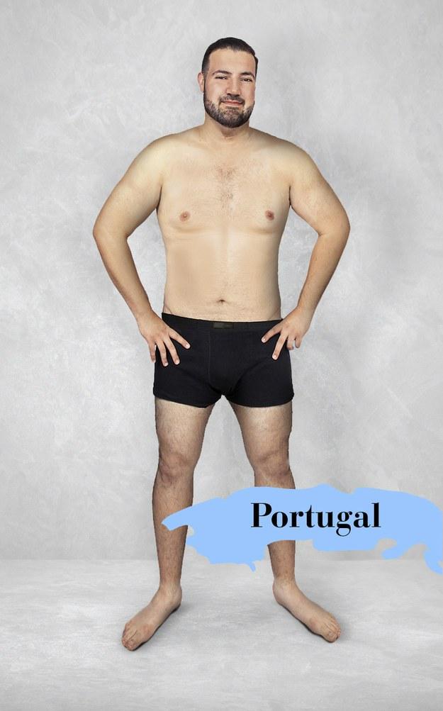 Hombre ideal en Portugal