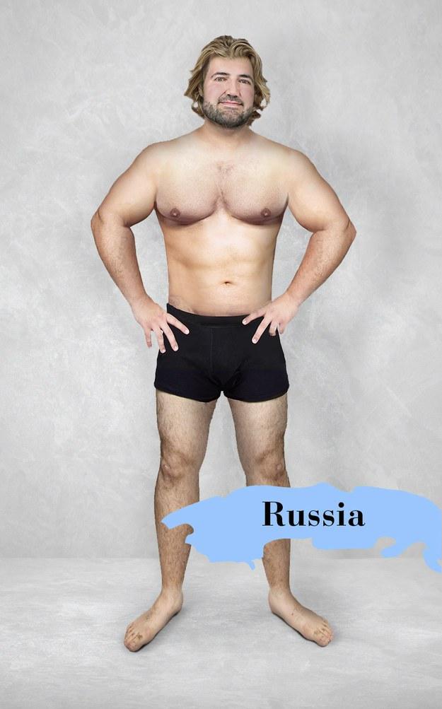 Hombre ideal en Rusia