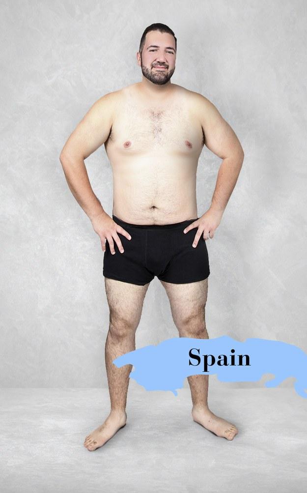 Hombre ideal en España