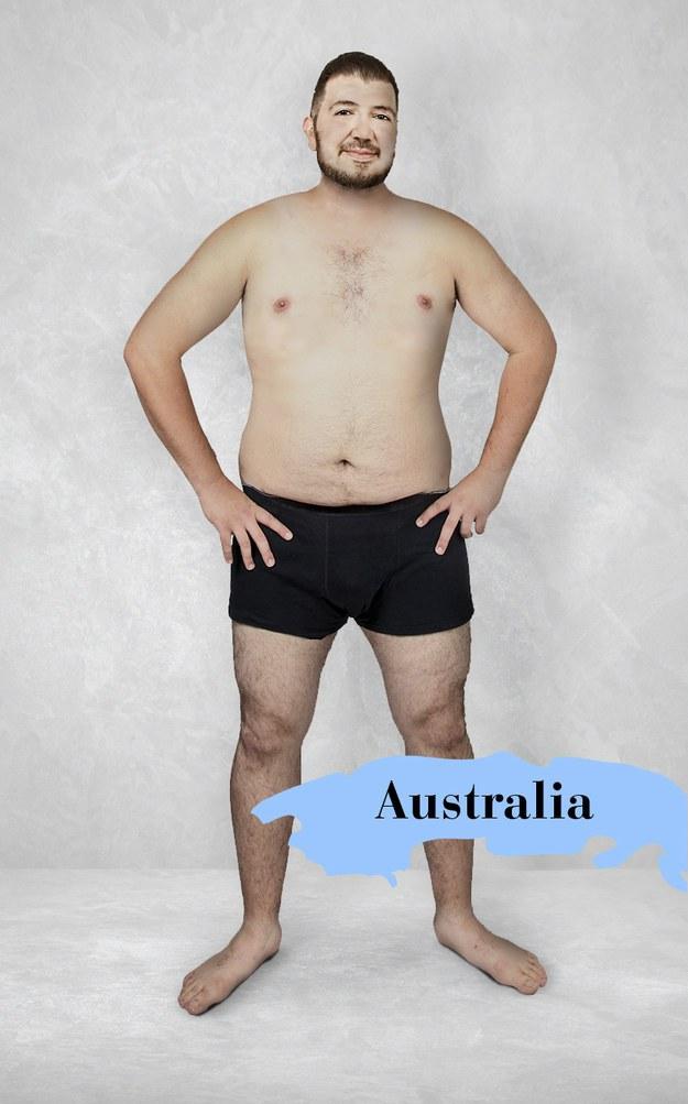 Hombre ideal en Australia