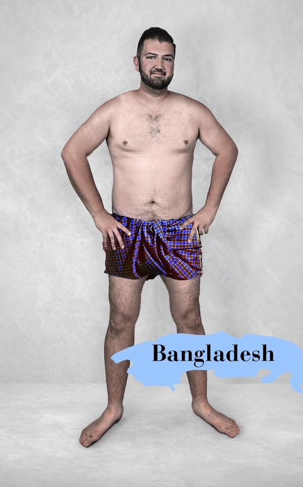 Hombre ideal en Bangladesh