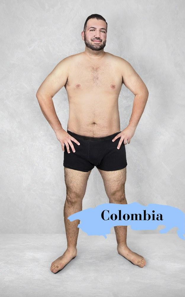 Hombre ideal en Colombia