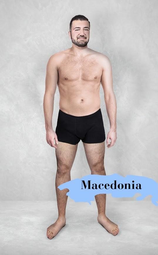 Hombre ideal en Macedonia