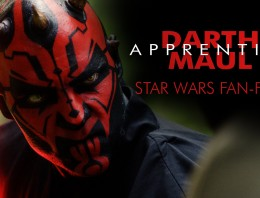 Corto de Star Wars DARTH MAUL: Apprentice
