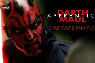 Corto de Star Wars DARTH MAUL: Apprentice