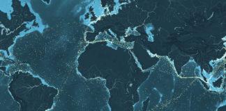 Mapa de Cargueros en el mundo