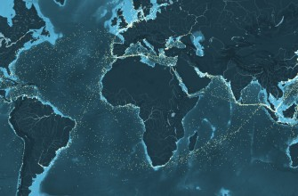 Mapa interactivo de la enorme red de distribución marítima mundial