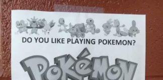 Pokémon Go en un cartel del ejército de EEUU